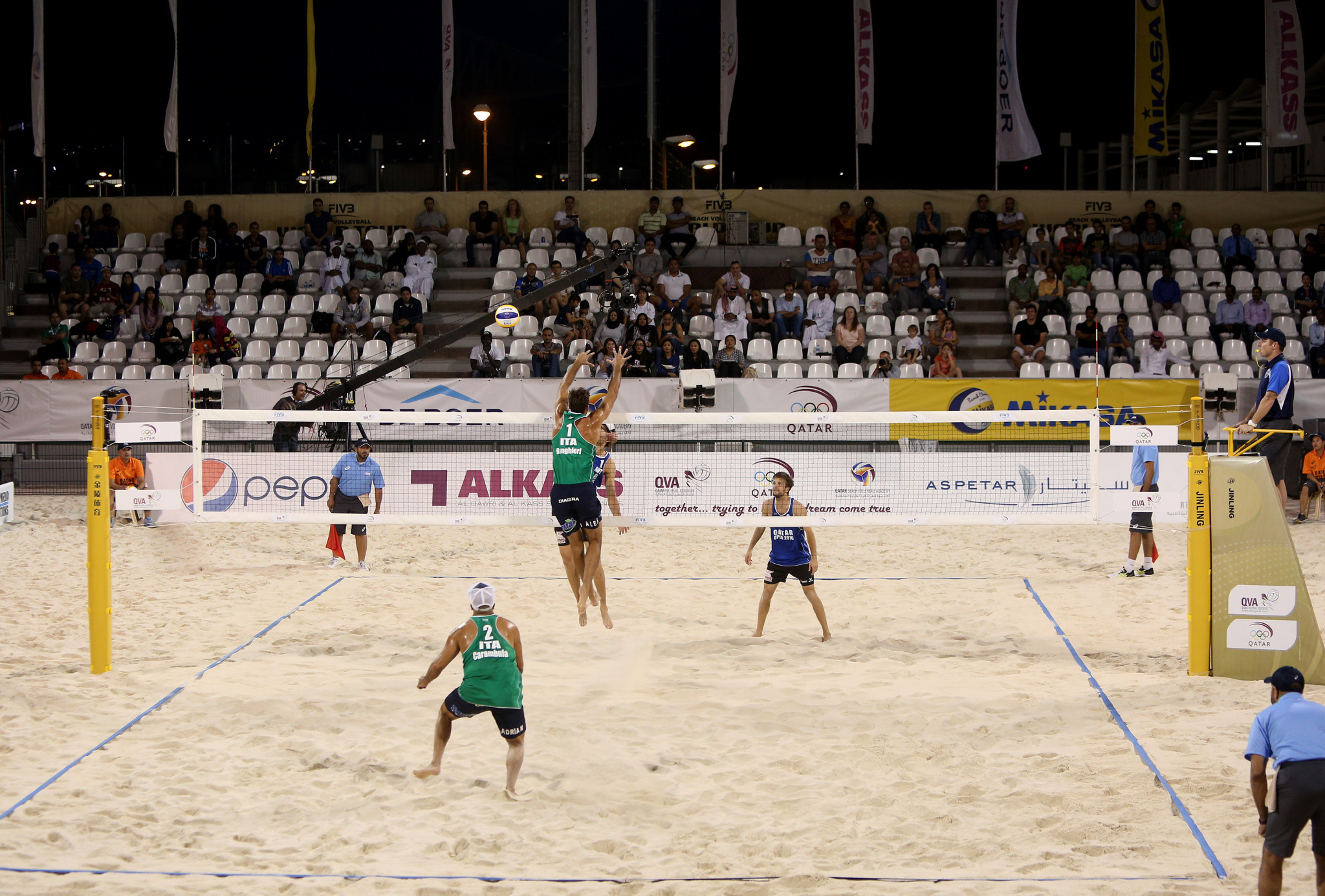 The first FIVB Beach World Tour event of 2021 is set to begin in Doha ©Getty Images