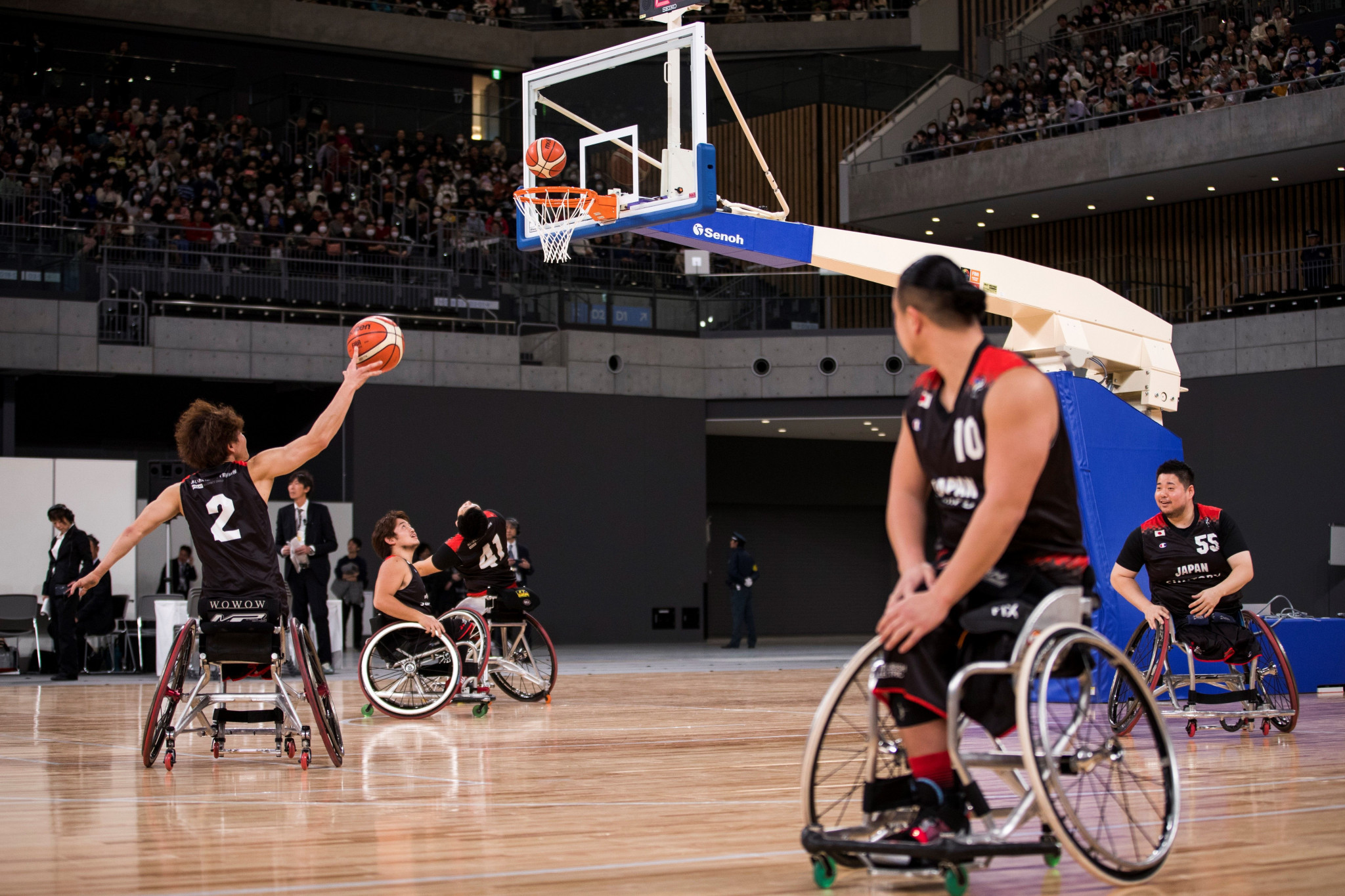The International Wheelchair Basketball Federation has been ordered by the IPC to re-classify athletes ahead of this year's Paralympics ©Getty Images
