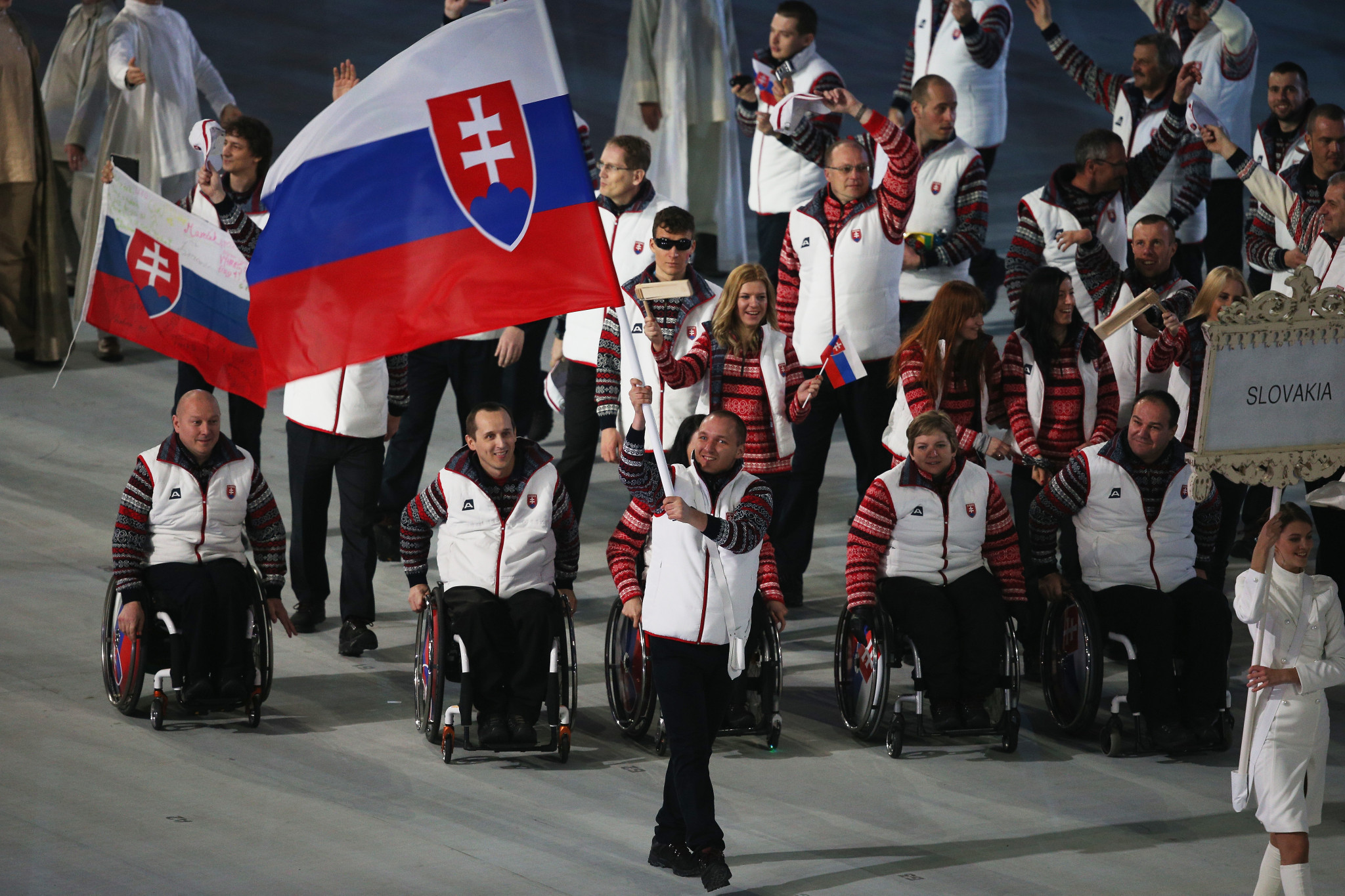 Juraj Stefak was involved with the Slovakian team at Winter Paralympic Games ©Getty Images