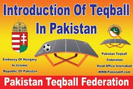Pakistan Teqball Federation looking to grow game after donation of tables