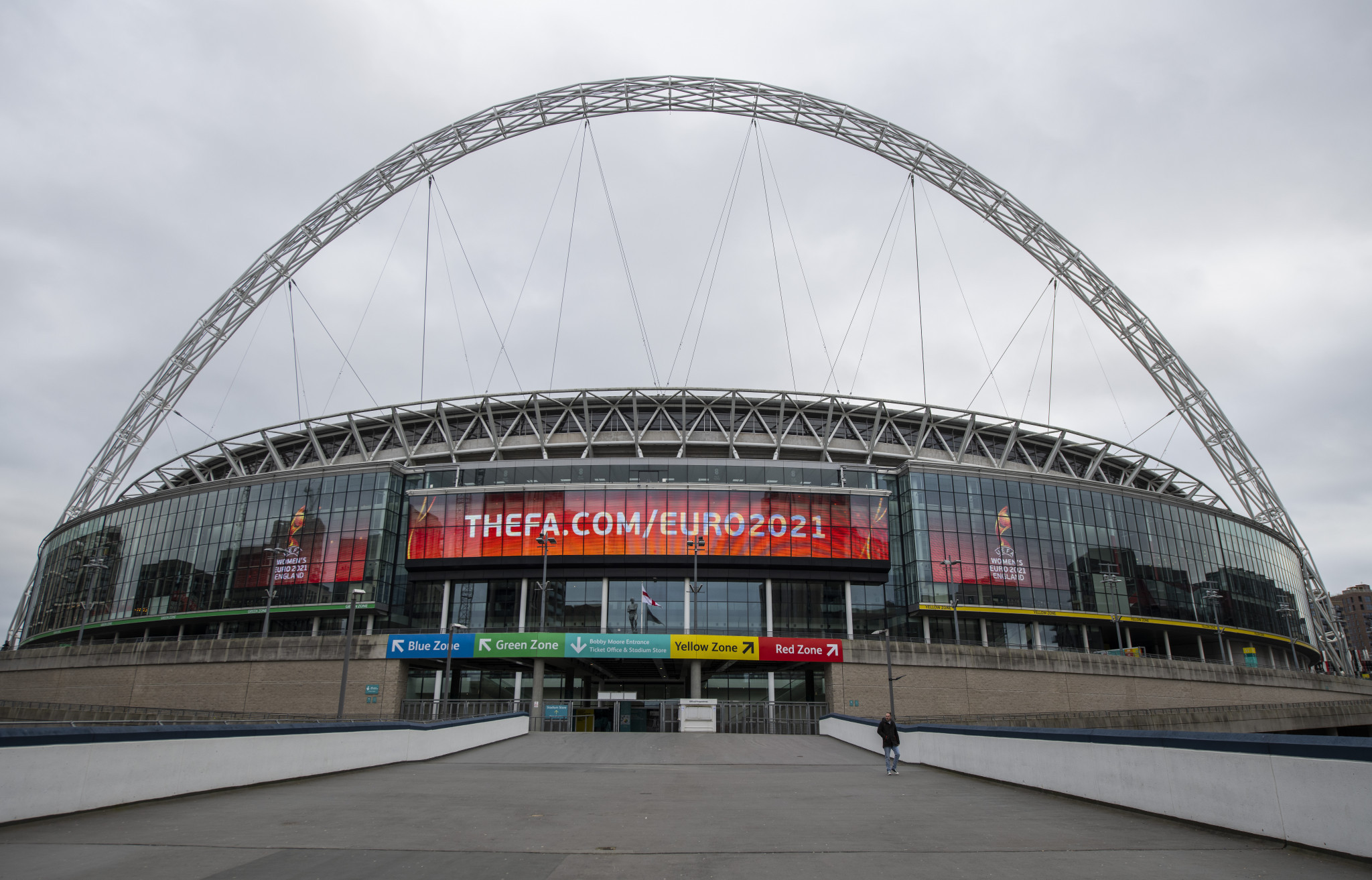 Plan for return of fans in England raises hope for Euro 2020 and Wimbledon