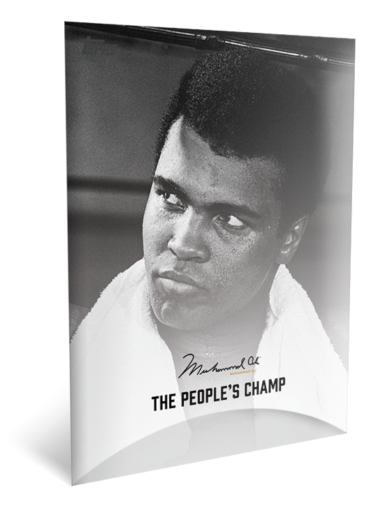 Topps launch new cards celebrating life of Muhammad Ali