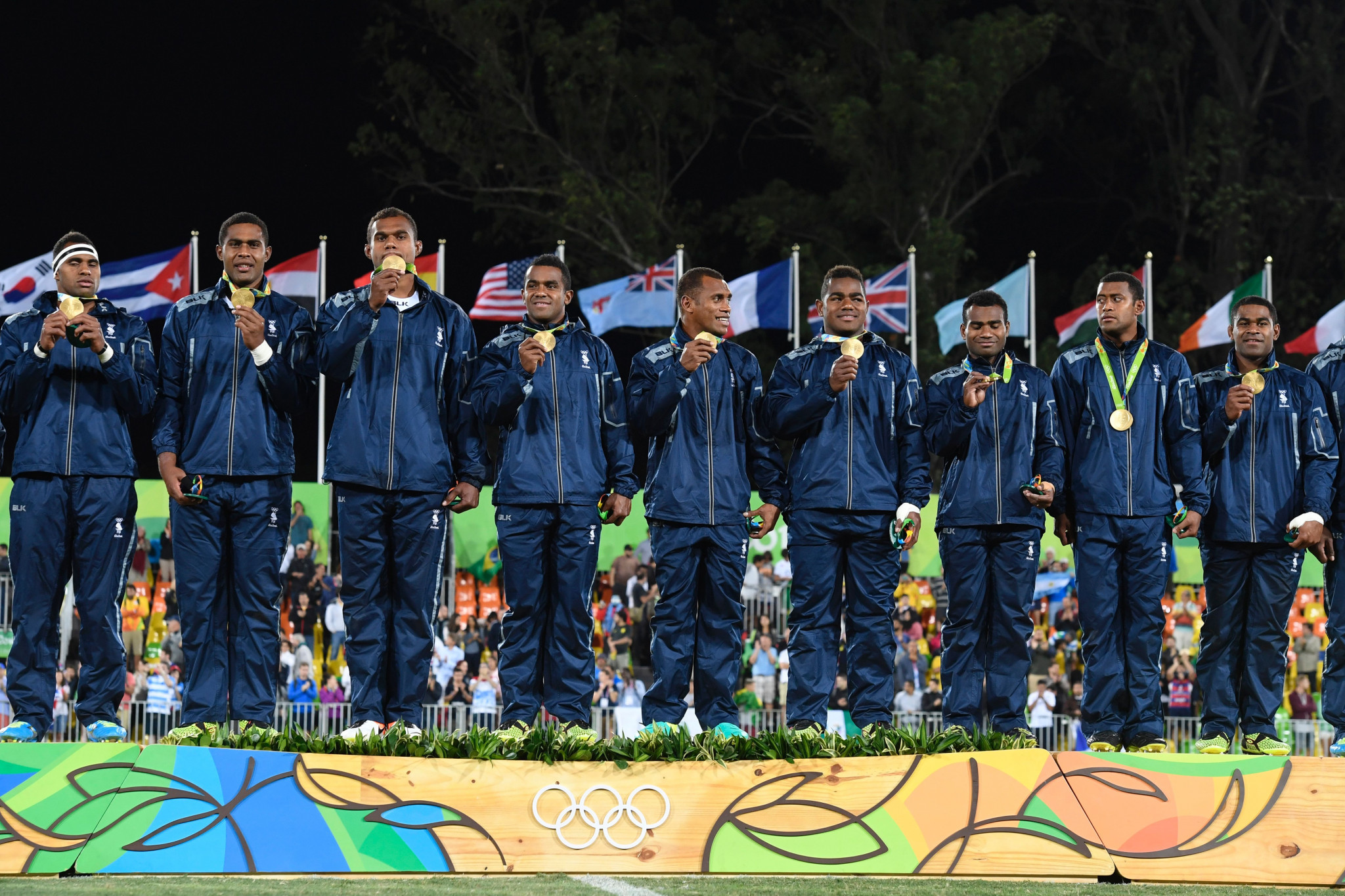 The men's rugby sevens team earned Fiji's first-ever Olympic gold medal at Rio 2016 ©Getty Images