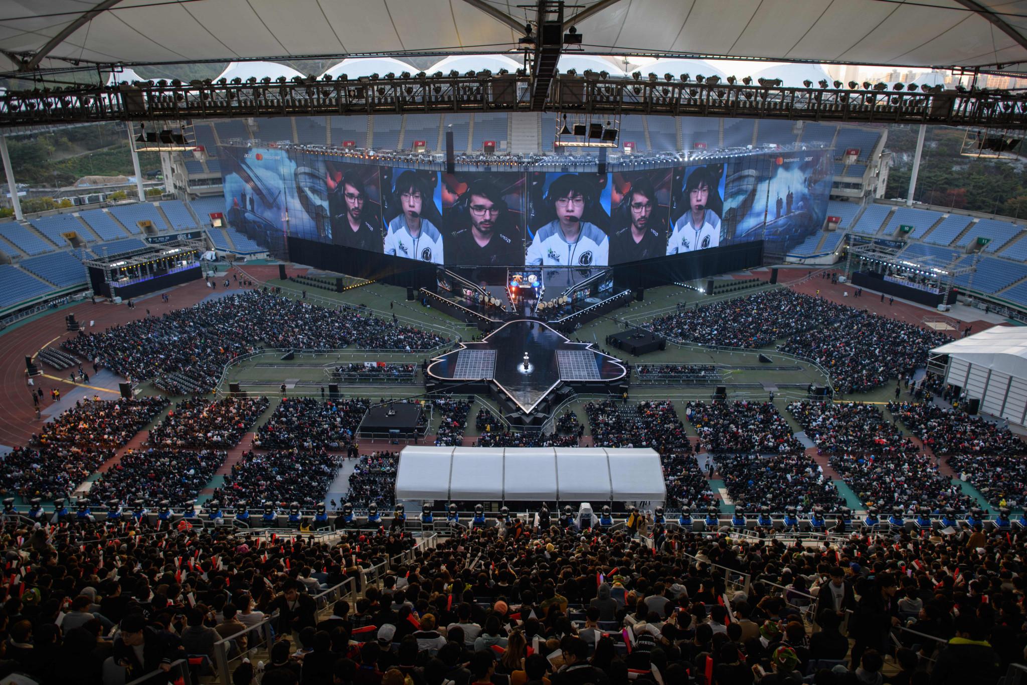 한국은 세계에서 가장 큰 e 스포츠 시장 중 하나를 자랑합니다. © Getty Images
