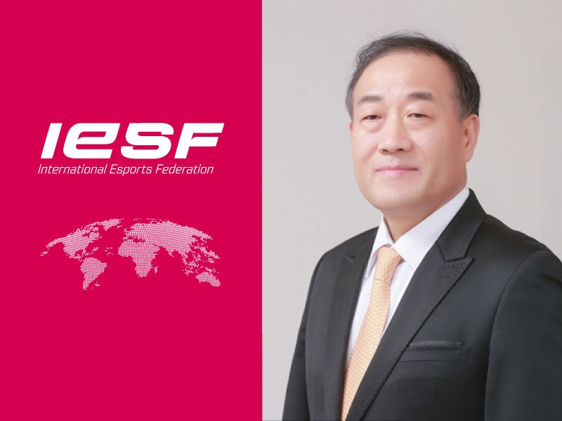 Korea e-Sports Association head Kim appointed IESF vice-president