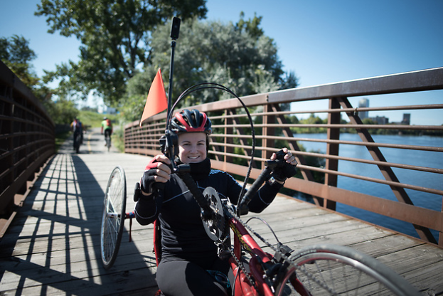 Top Paralympians exploring accessibility in project with Trans Canada Trail