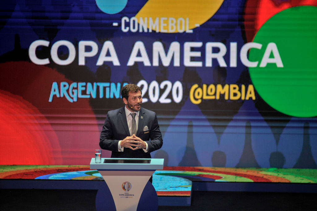 Argentina and Colombia are due to host the Copa América this year after it was postponed from 2020 ©Getty Images