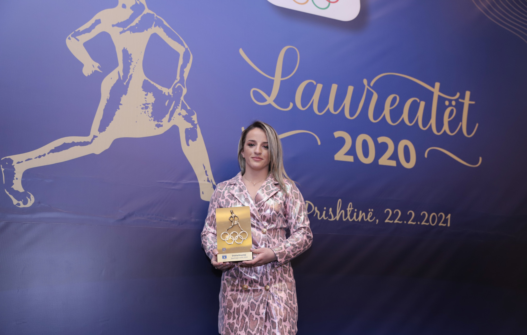 Judská hviezda Destria Krasnicki vyhrala športovkyňu roka © KOC