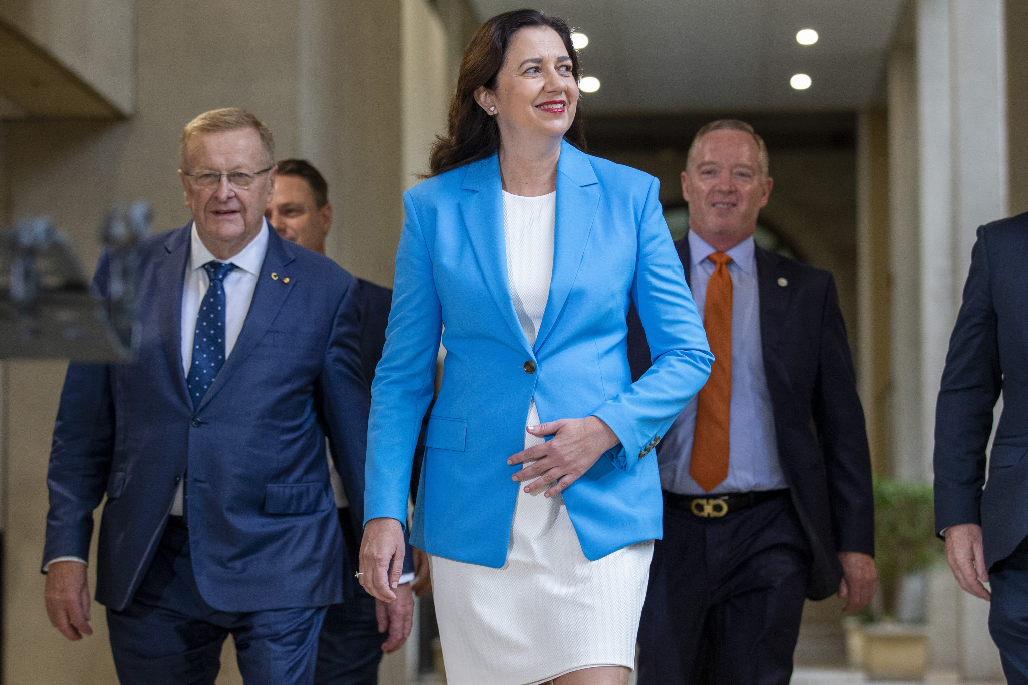 Queensland Premier Annastacia Palaszczuk has suggested one major stadium could be constructed for the Games ©Getty Images
