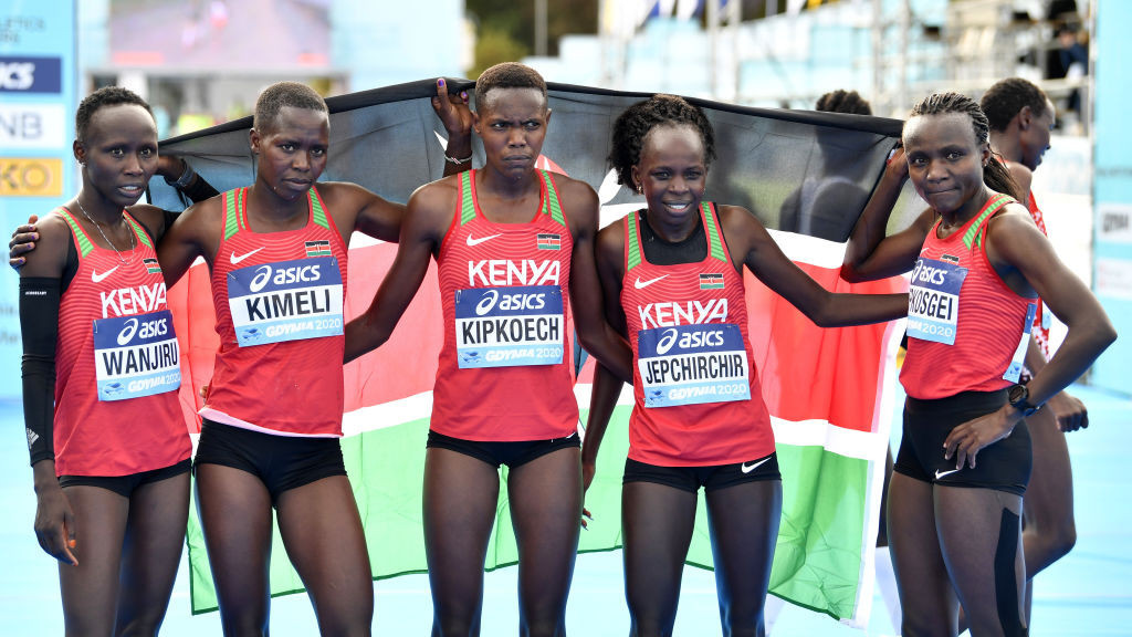 Kenyan runners have dominated the Kilimanjaro Marathon in Tanzania in recent years but have been forbidden from taking part in this year's race ©Getty Images