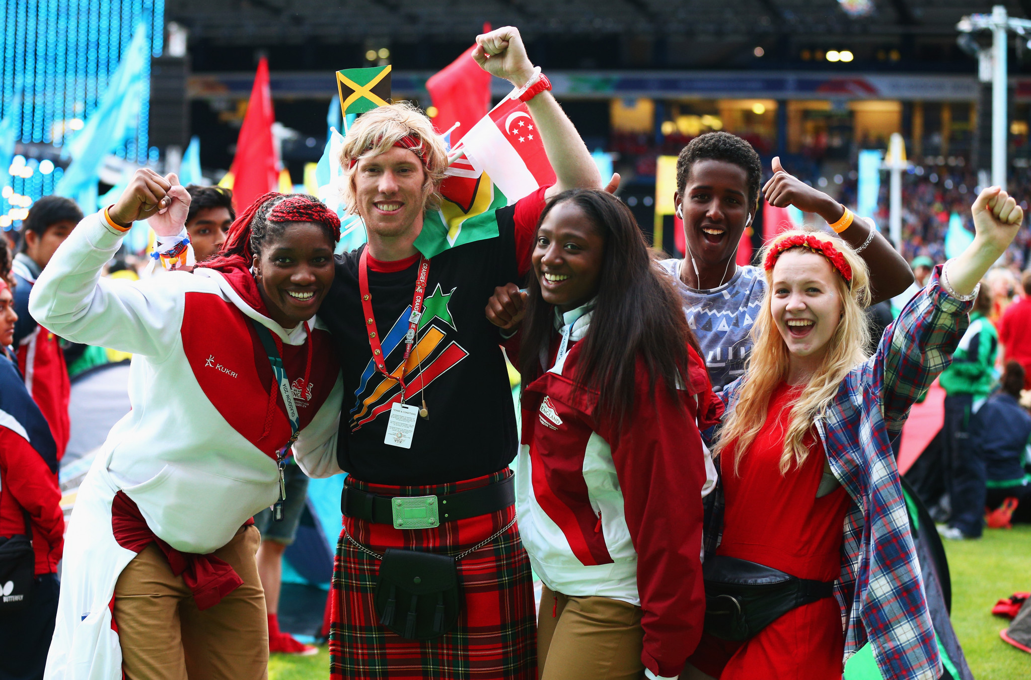 The Commonwealth Games brings together numerous countries and cultures ©Getty Images