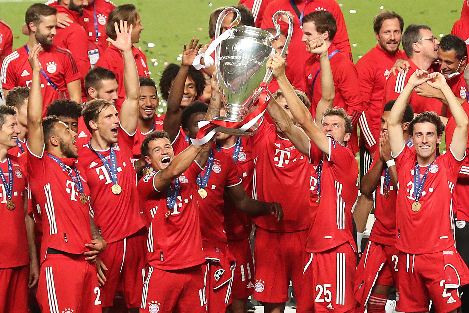 Bayern Munich are up for the Laureus World Team of the Year Award after winning the UEFA Champions League ©Getty Images