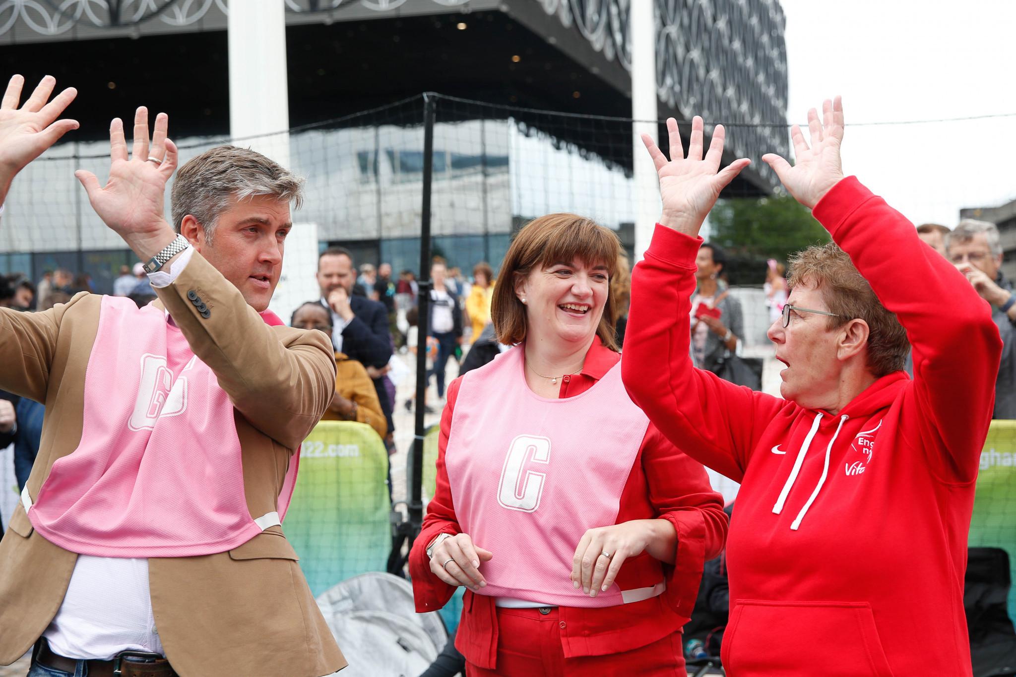 Birmingham 2022 chief executive Ian Reid believes the outlook is