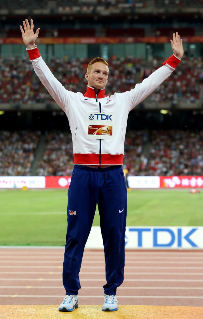 Greg Rutherford is the Olympic, World, European and Commonwealth long jump champion