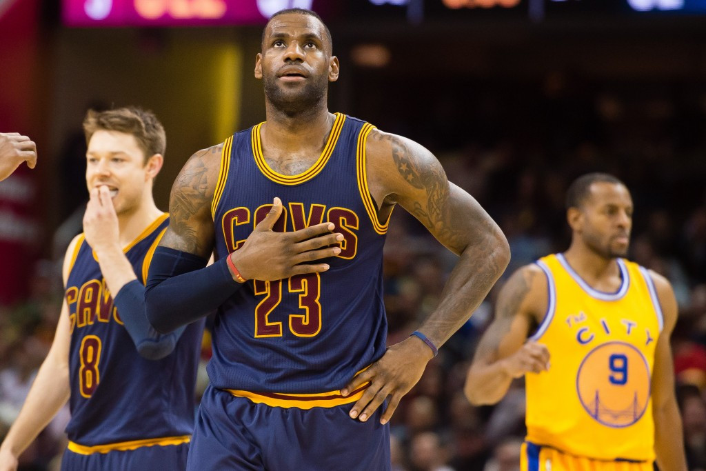 LeBron James will look to claim a third straight Olympic gold ©Getty Images