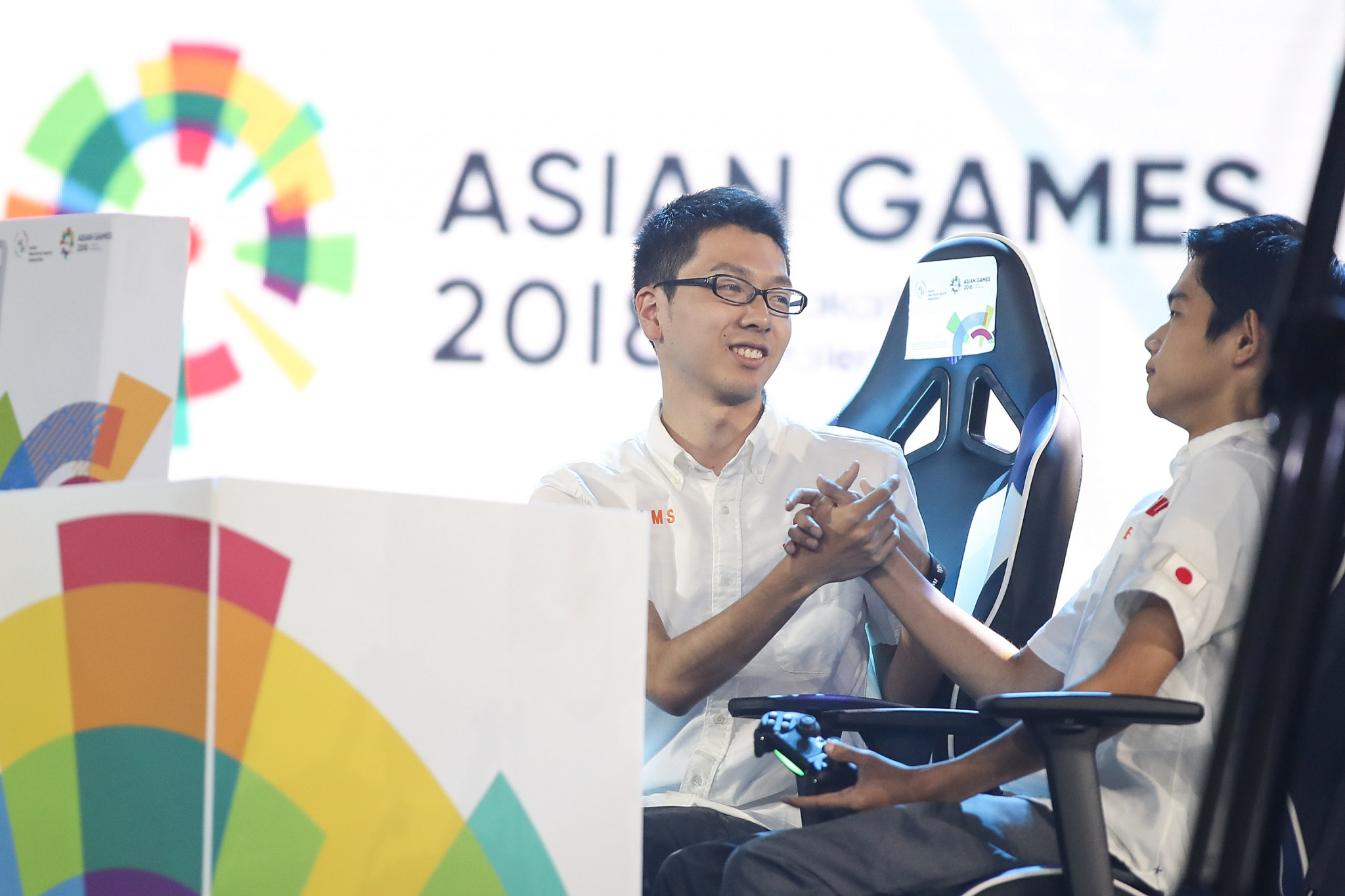 Esports featured as a demonstration event at the Jakarta Palembang 2018 Asian Games ©Getty Images