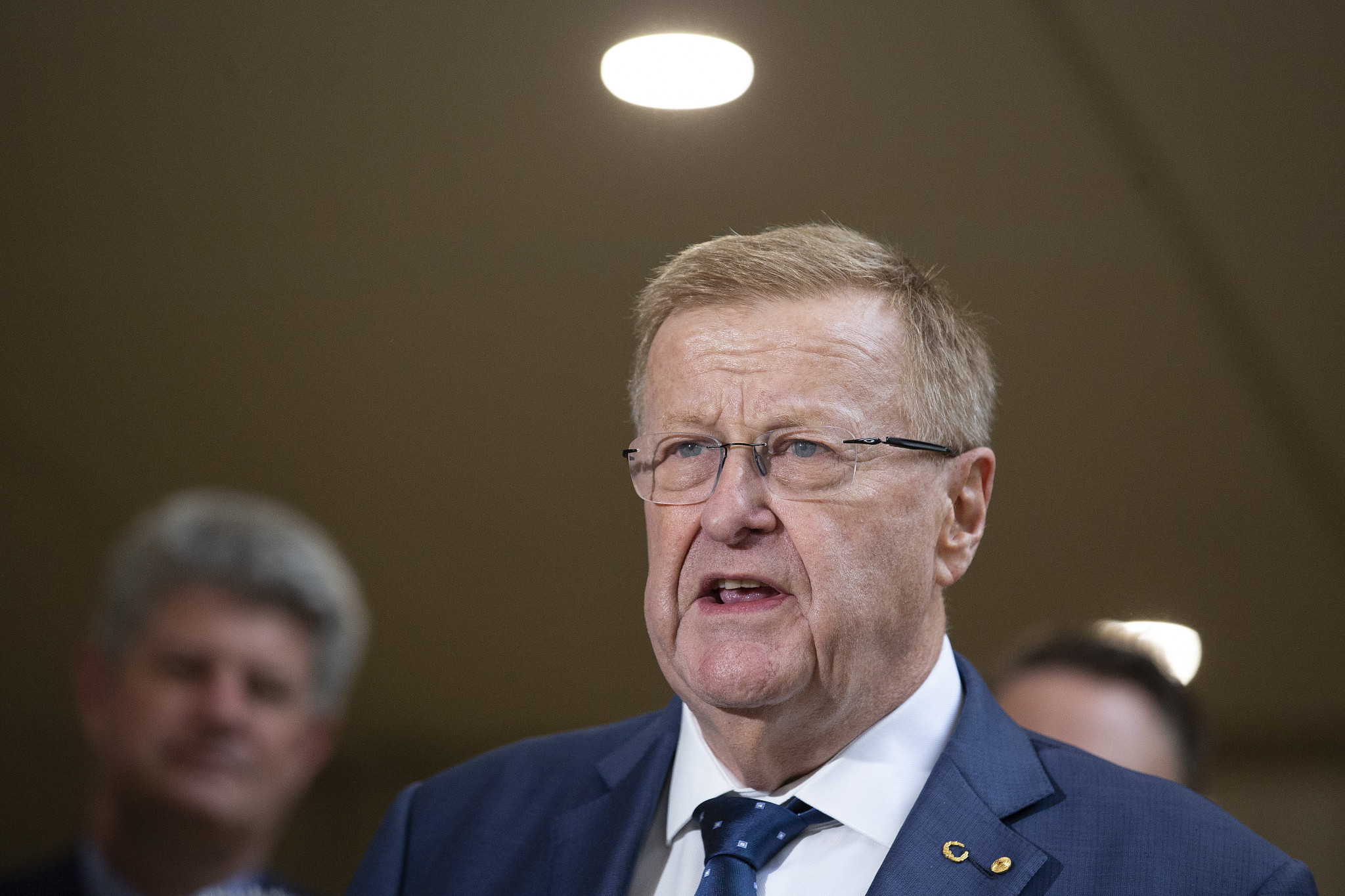 AOC President John Coates had been involved in the decision to change the host city selection process ©Getty Images