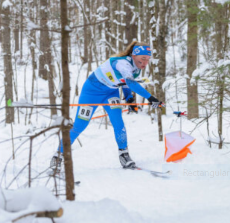 Day two of the World Ski Orienteering Championships in Estonia saw men and women taking part in the pursuit event ©WOF
