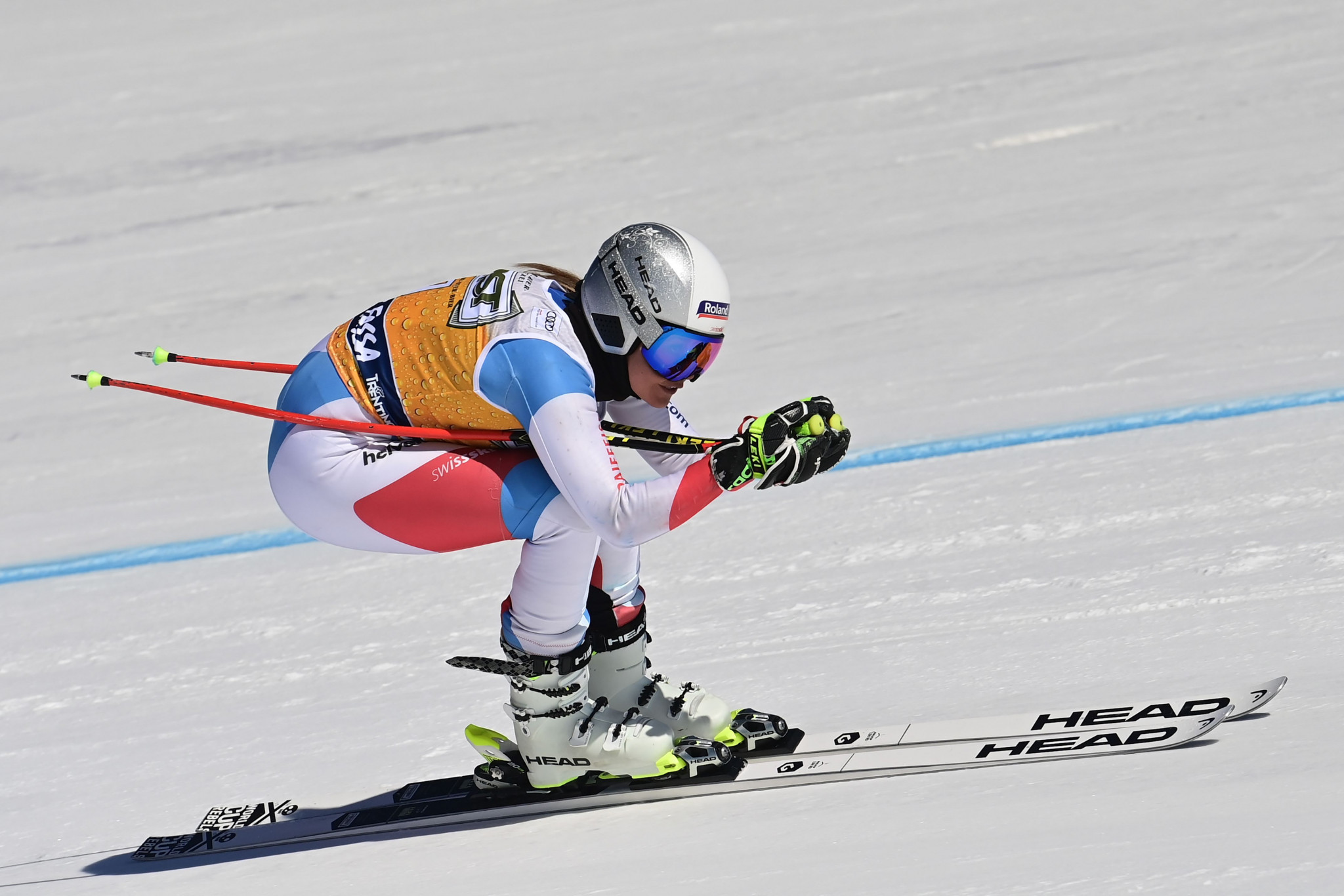 Corinne Suter will be looking to continue her downhill form in the FIS Alpine Ski World Cup ©Getty Images