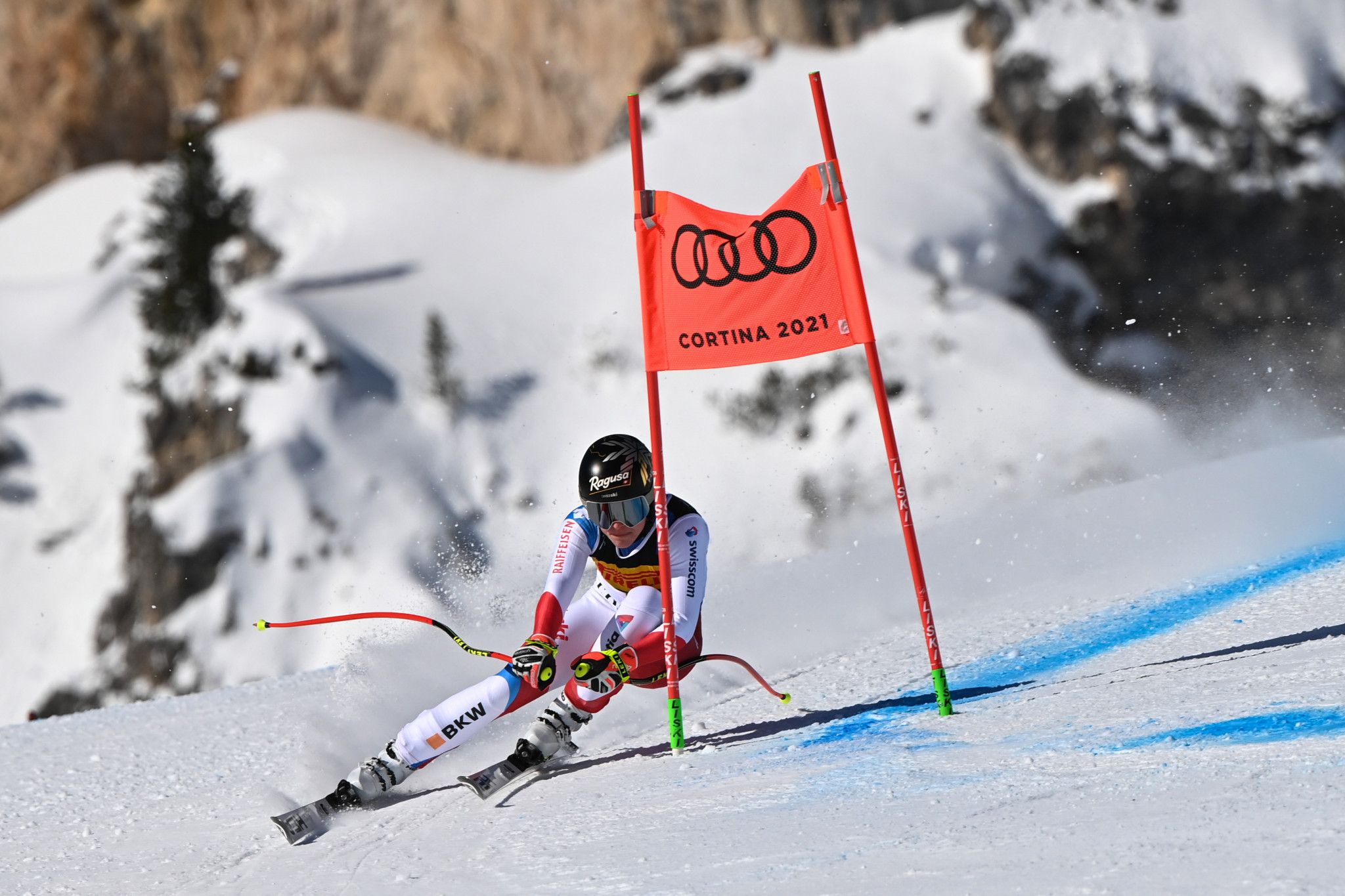 Lara Gut-Behrami is considered a favourite in the Super-G contest at the FIS Alpine Ski World Cup in Val di Fassa ©Getty Images