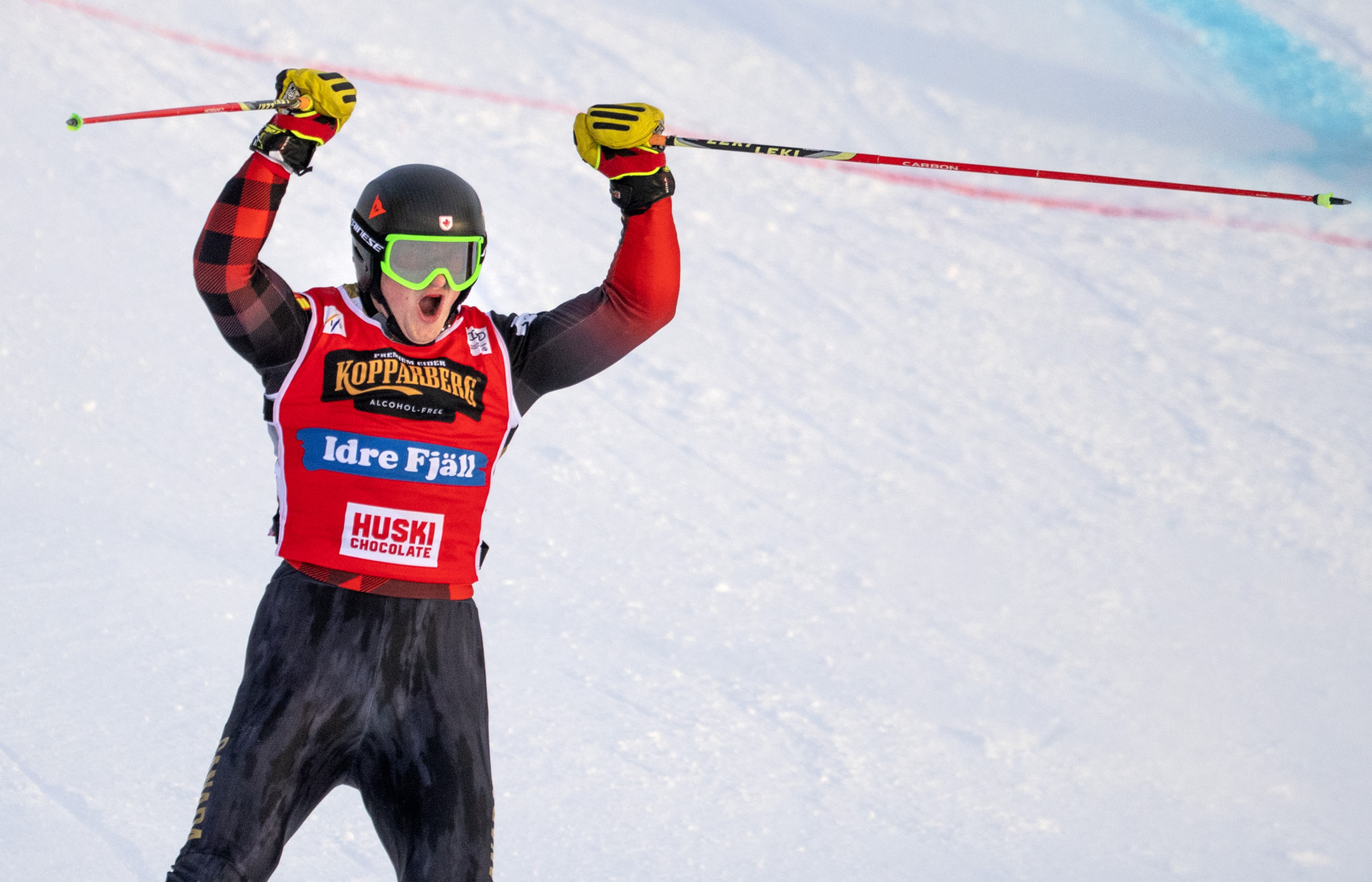 Reece Howden is leading the men's FIS Ski Cross World Cup standings ©Getty Images