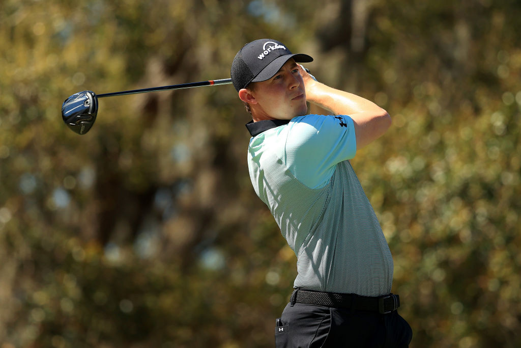 Fitzpatrick and Simpson share lead after first round at WGC-Workday Championship