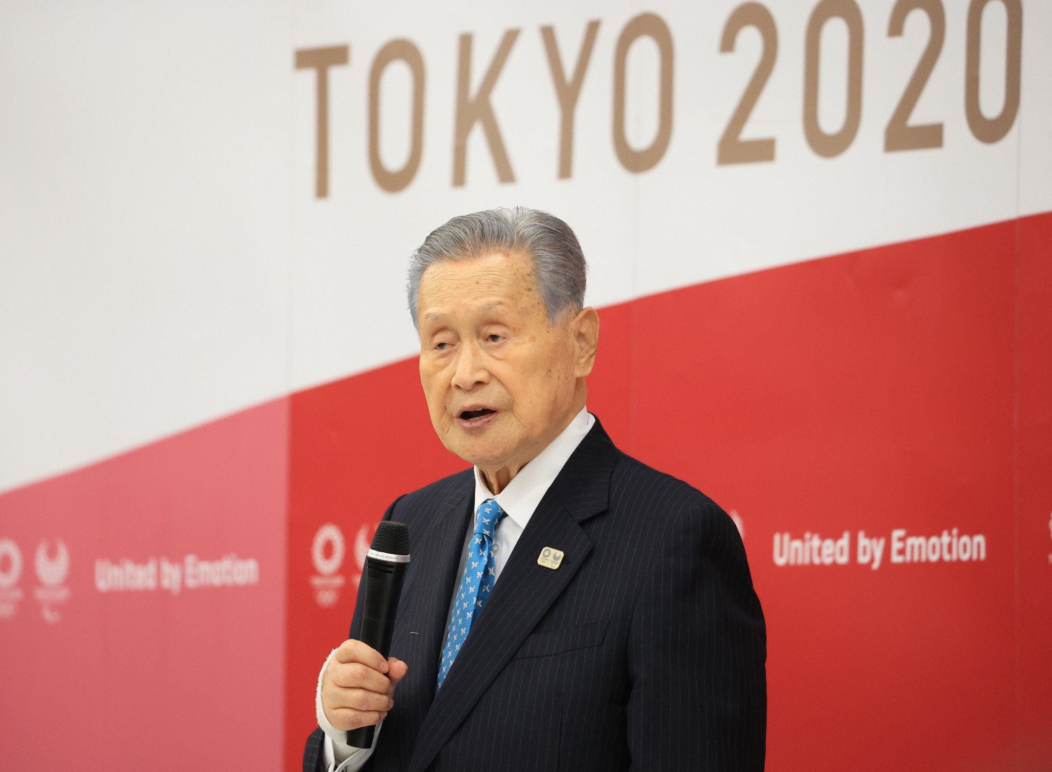 Former Tokyo 2020 President Yoshirō Mori sparked a sexism row which resulted in the resignation of hundreds of volunteers ©Getty Images