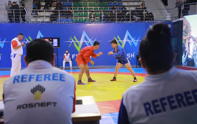 New anti-doping protocols were in place for the recent Uzbekistan Sambo Championships in Tashkent ©FIAS