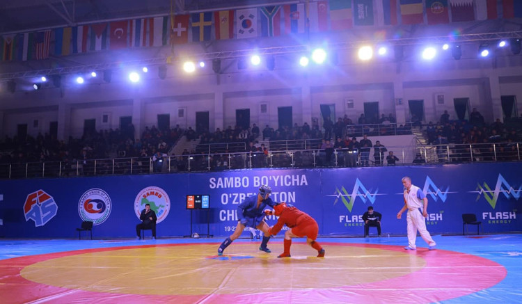 New anti-doping protocols were in place at the recent Uzbekistan Sambo Championships held in Tashkent ©FIAS