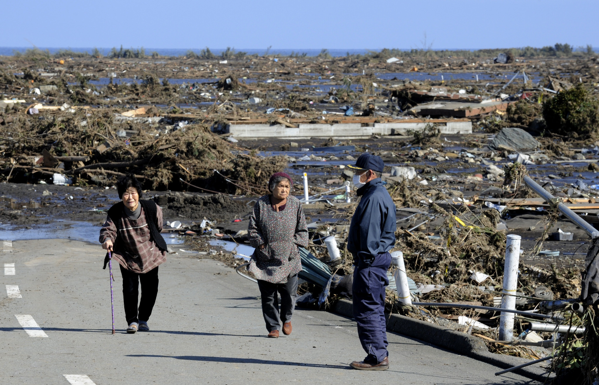 The Great East Japan Earthquake killed thousands of Japanese citizens when it struck in March 2011 ©Getty Images