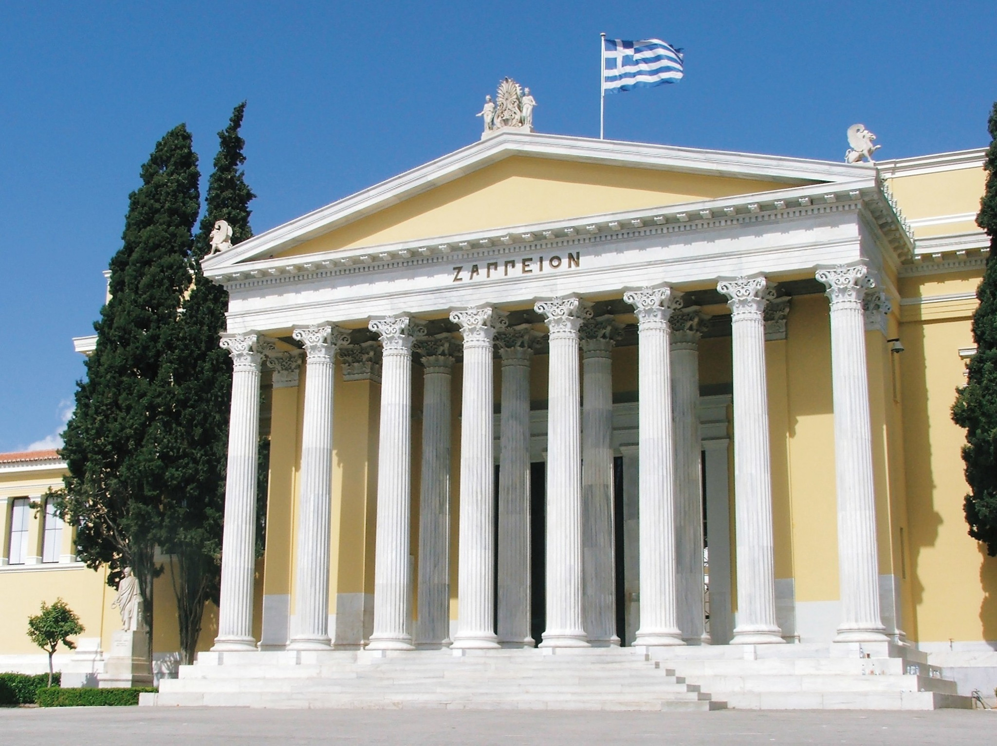 The Zappeion was used during the 1896 Olympic Games in Athens ©Philip Barker