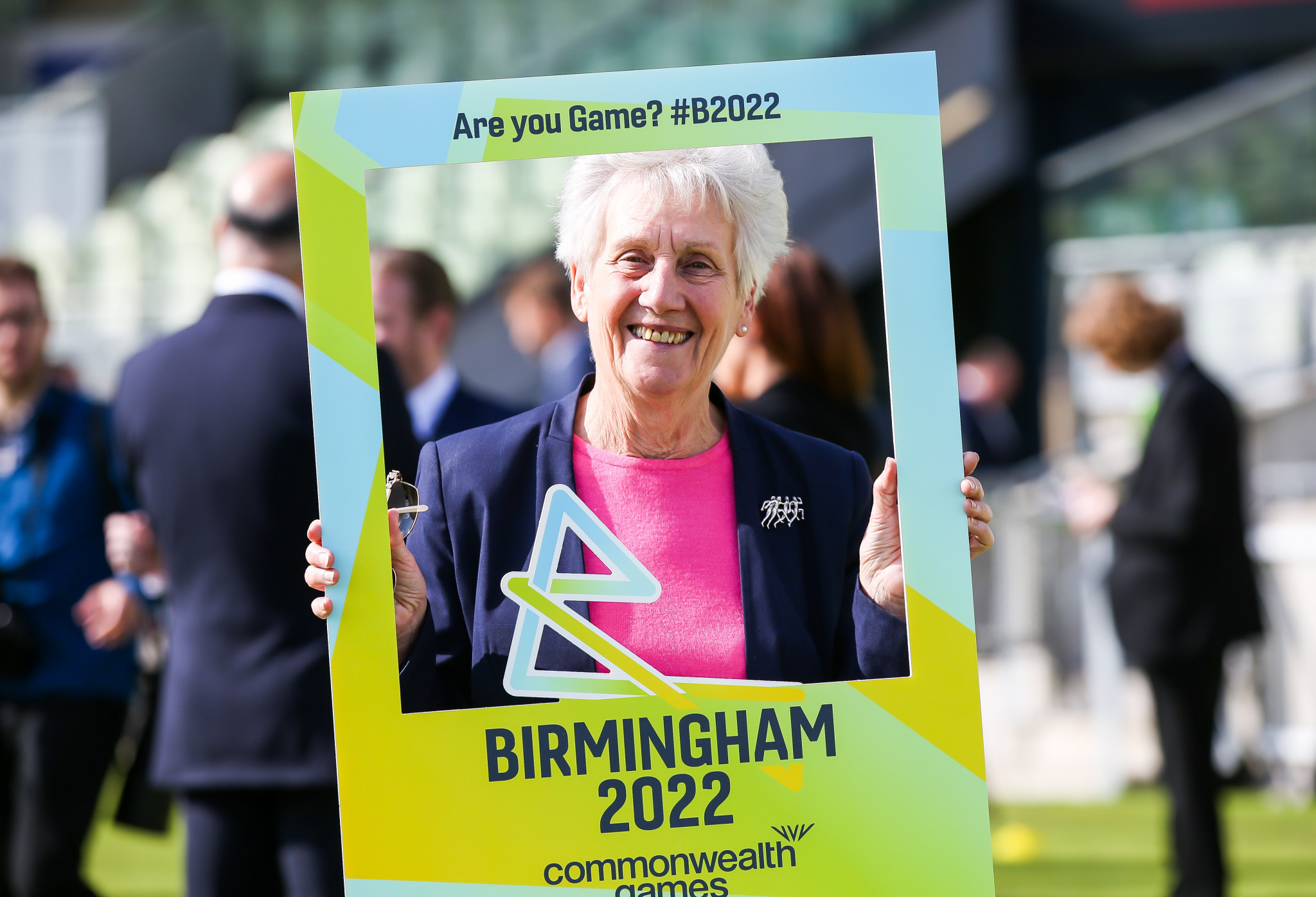 CGF President Dame Louise Martin has temporarily taken Grevemberg's position on the Birmingham 2022 Board ©Getty Images