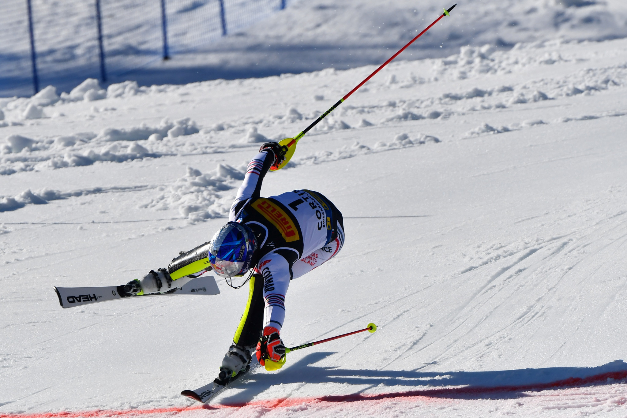 Alexis Pinturault failed to finish in the giant slalom at the Alpine Ski World Championships last week ©Getty Images