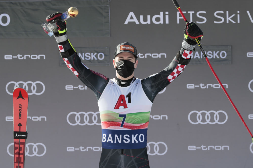 World giant slalom champion Faivre second behind Zubčić at FIS Alpine Ski World Cup in Bansko