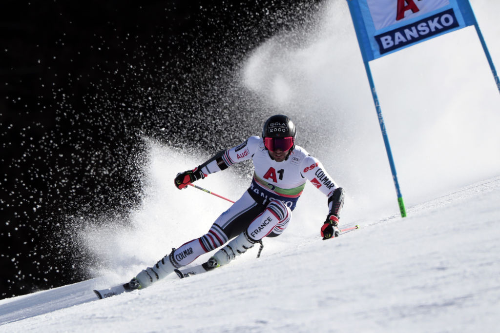 France's newly-installed world giant slalom champion had to settle for silver in the first of two giant slalom races this weekend in Bulgaria ©Getty Images