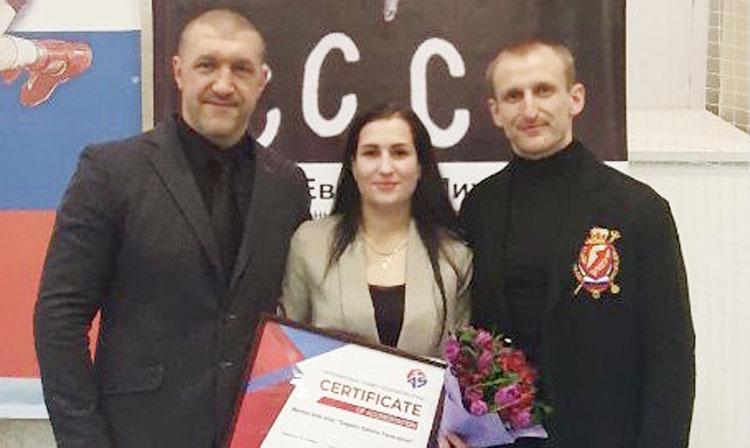 FIAS awards first club certification to Gagarin Sambo Federation