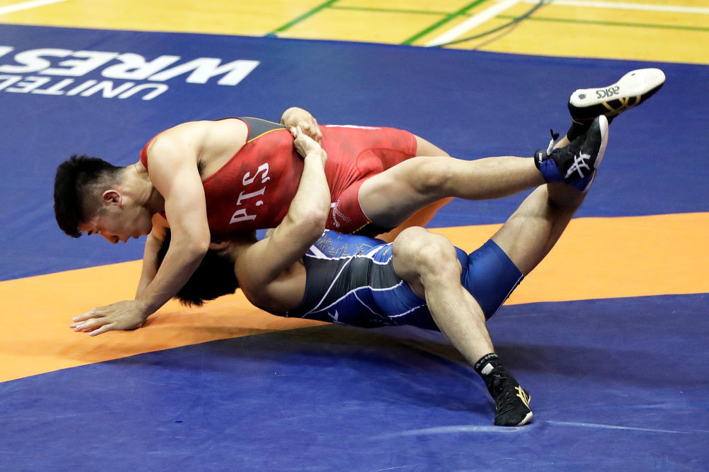 Russia was stripped of the 2022 World Wrestling Championships, before being immediately awarded the event in 2023 ©Getty Images