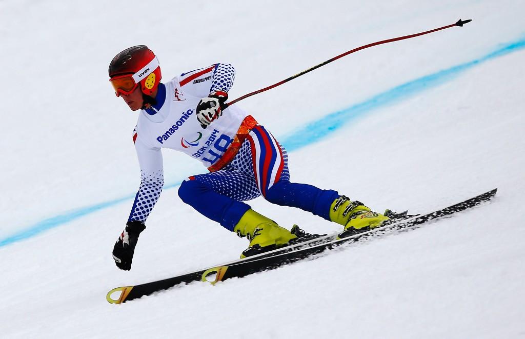 Bugaev doubles up at IPC Alpine Skiing World Cup in Tarvisio