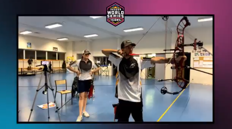 Arc Système win compound prize in new Indoor Archery World Series Finals on one-arrow shoot-out