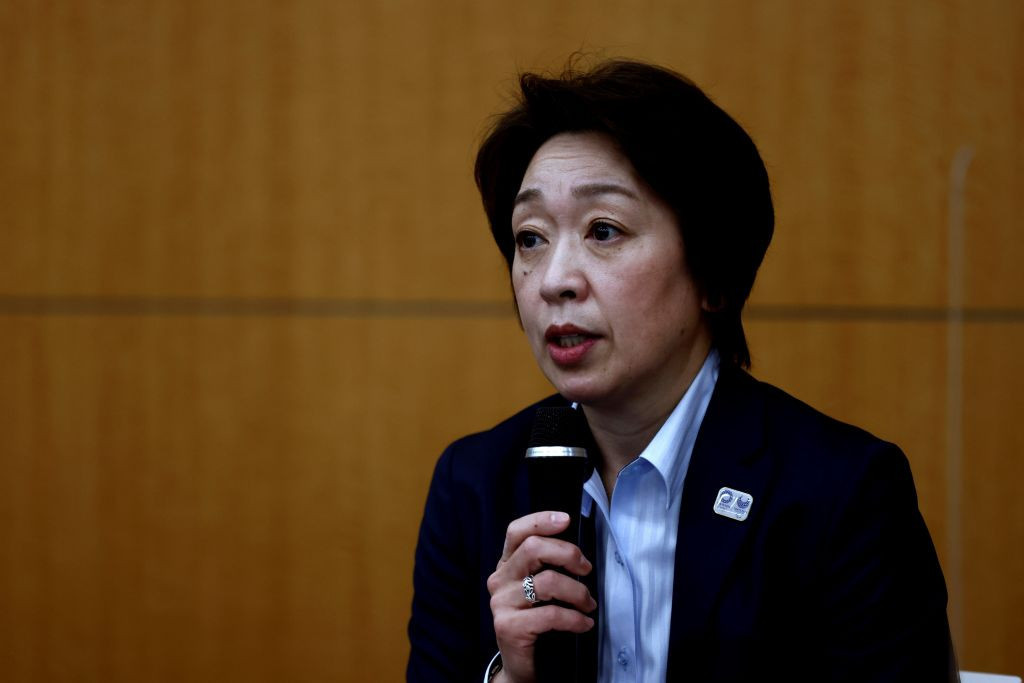 Tokyo 2020 President Seiko Hashimoto believes fans should be allowed to attend the Games ©Getty Images