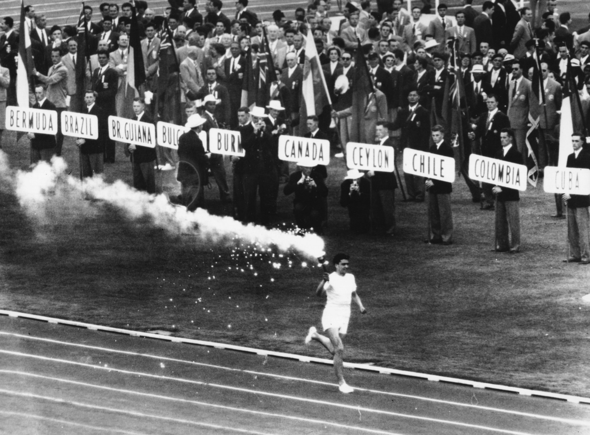 Melbourne became the first location in the Southern Hemisphere to host the Olympics in 1956 ©Getty Images