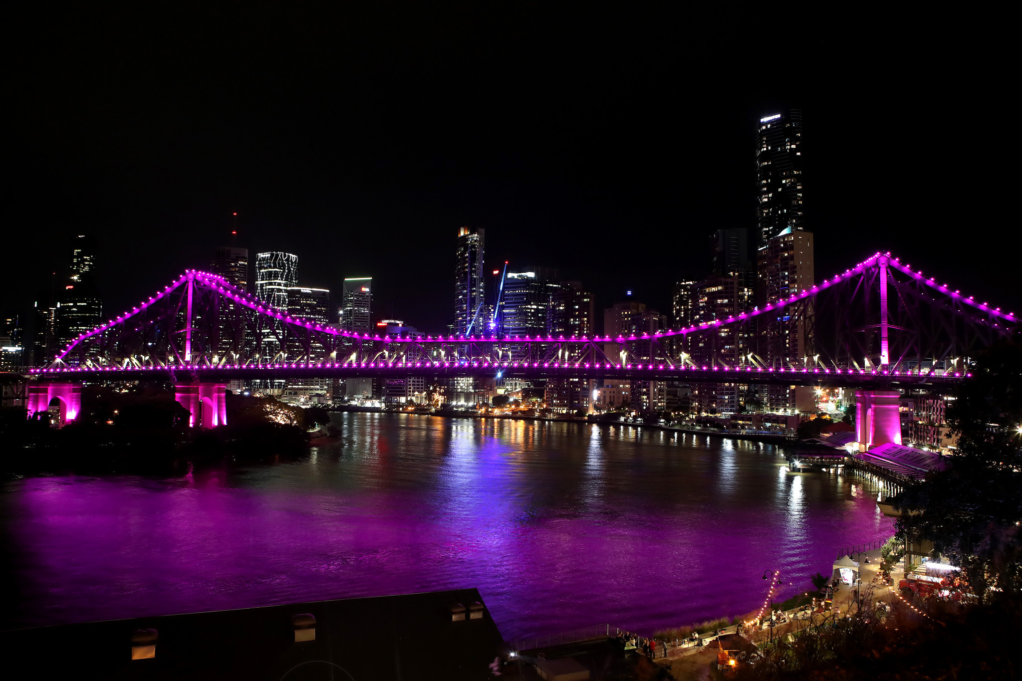 Brisbane is in pole position to stage the 2032 Olympic and Paralympic Games ©Getty Images