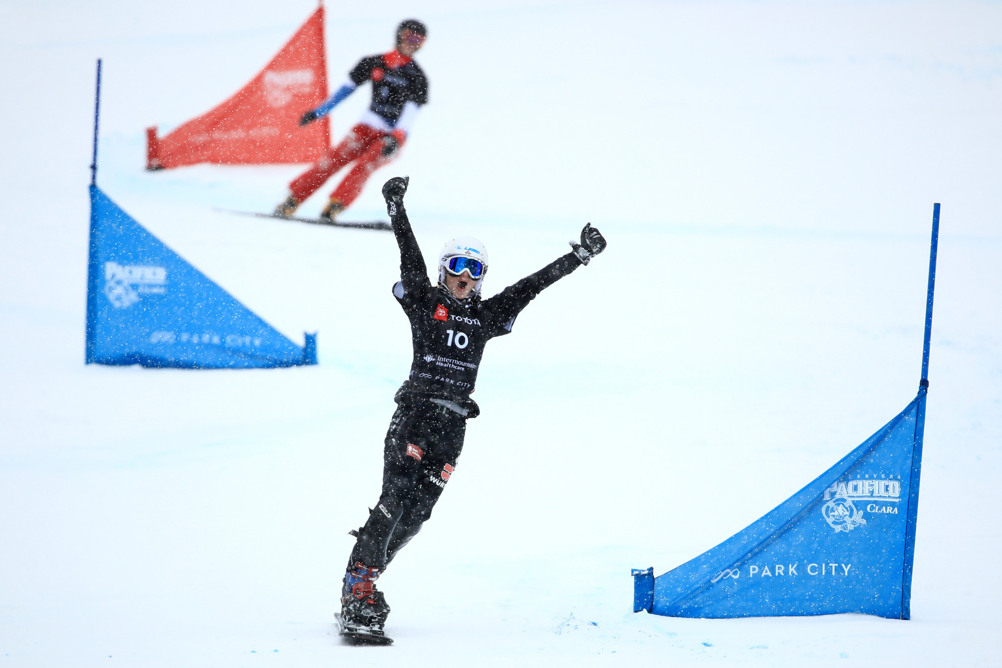 Selina Jörg of Germany is the defending champion in the women's parallel giant slalom ©Getty Images