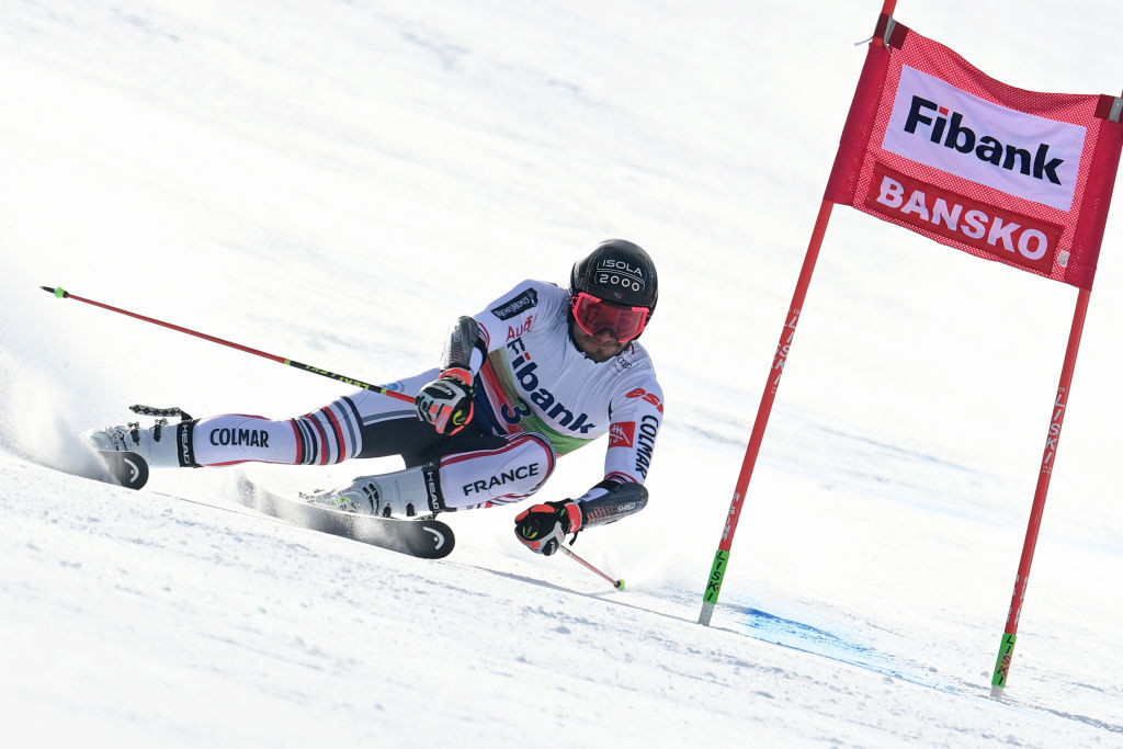 Faivre follows World Championships gold with giant slalom victory in Bansko