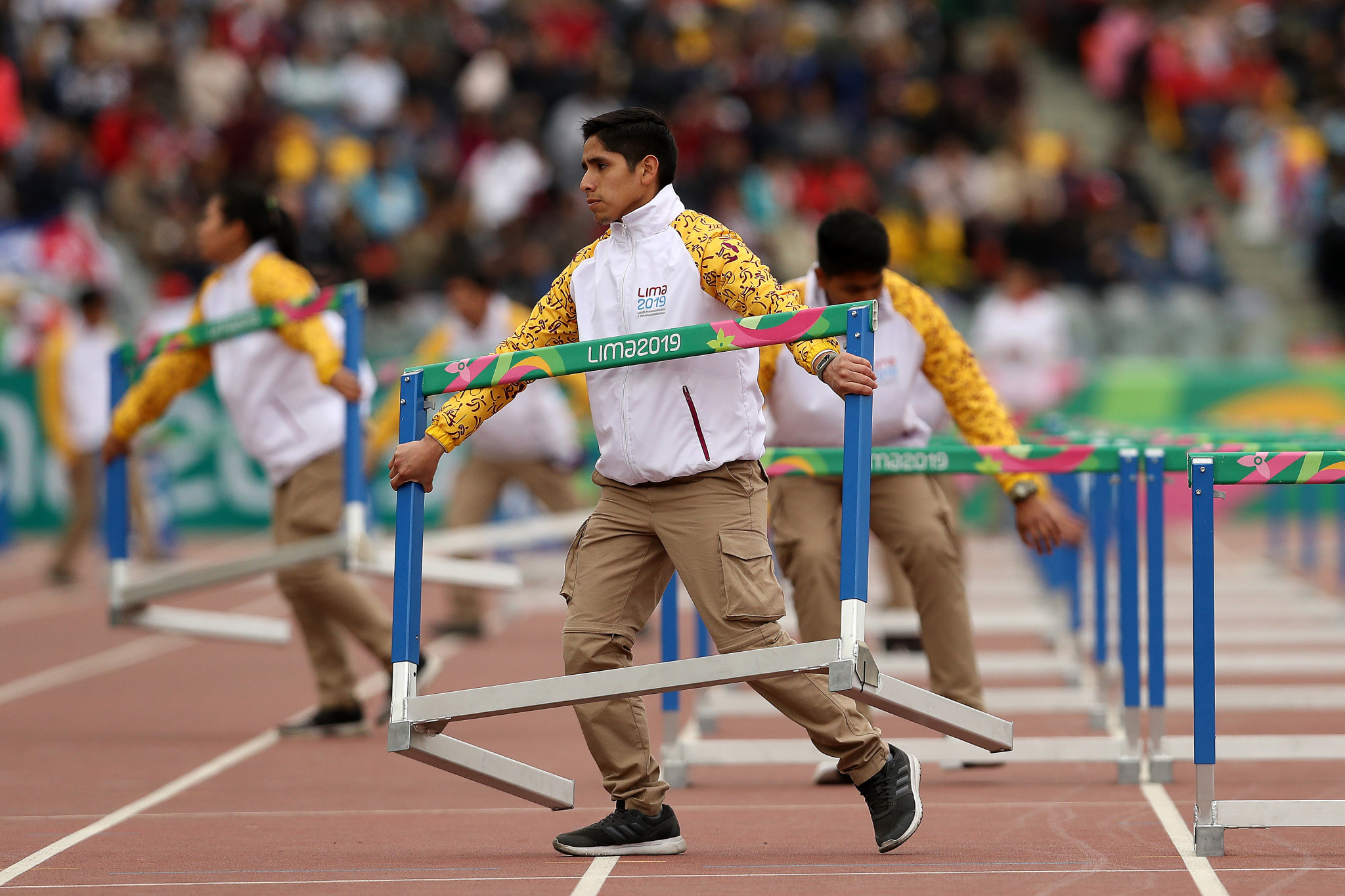The campaign to recruit volunteers for the 2021 Junior Pan American Games ends today ©Getty Images