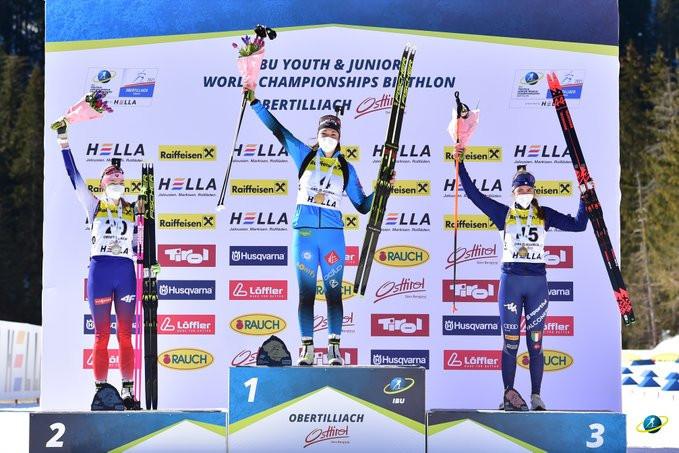 Bened and Lipowitz win individual titles at IBU Junior World Championships