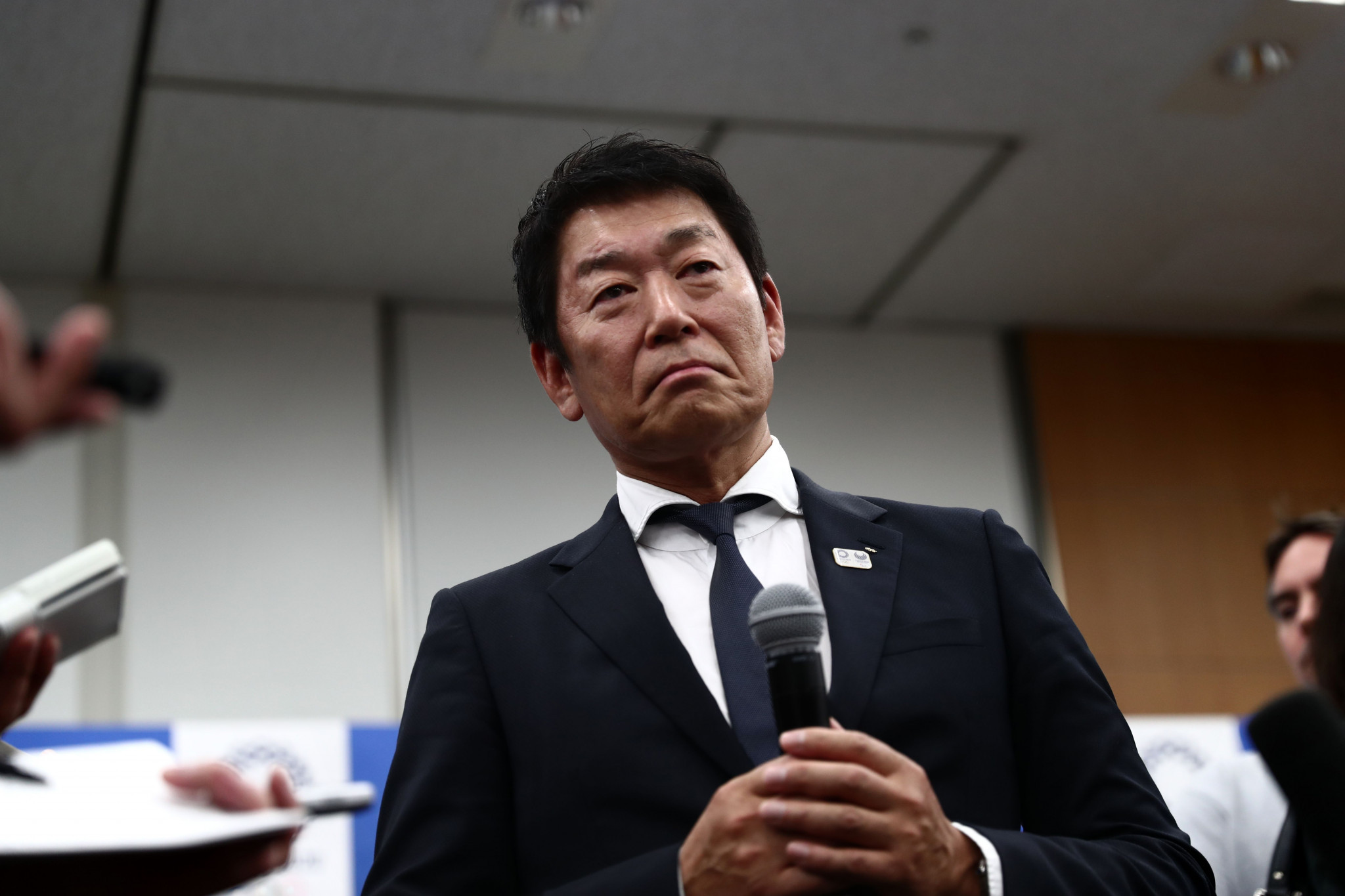 FIG President Morinari Watanabe will be seeking re-election at the organisation's Congress later this year ©Getty Images