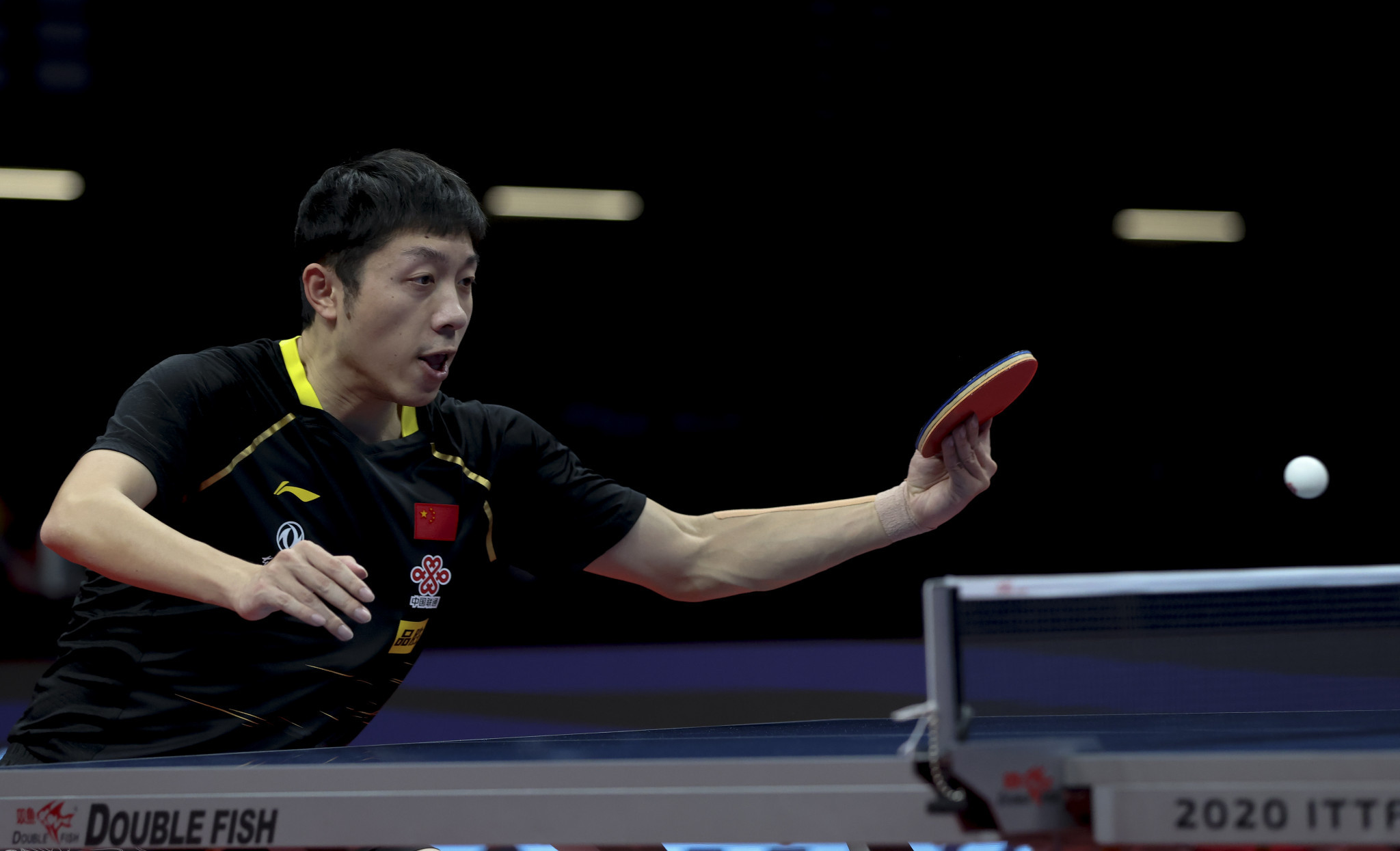 Men's world number two Xu Xin will no longer compete at the WTT Middle East hub ©Getty Images