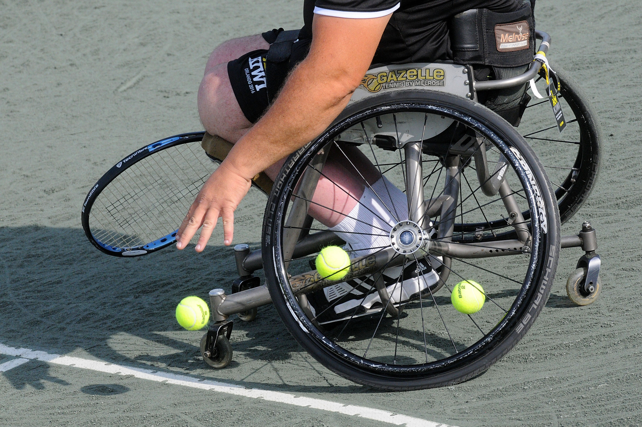 The Brad Parks Award honours excellence in wheelchair tennis ©Getty Images