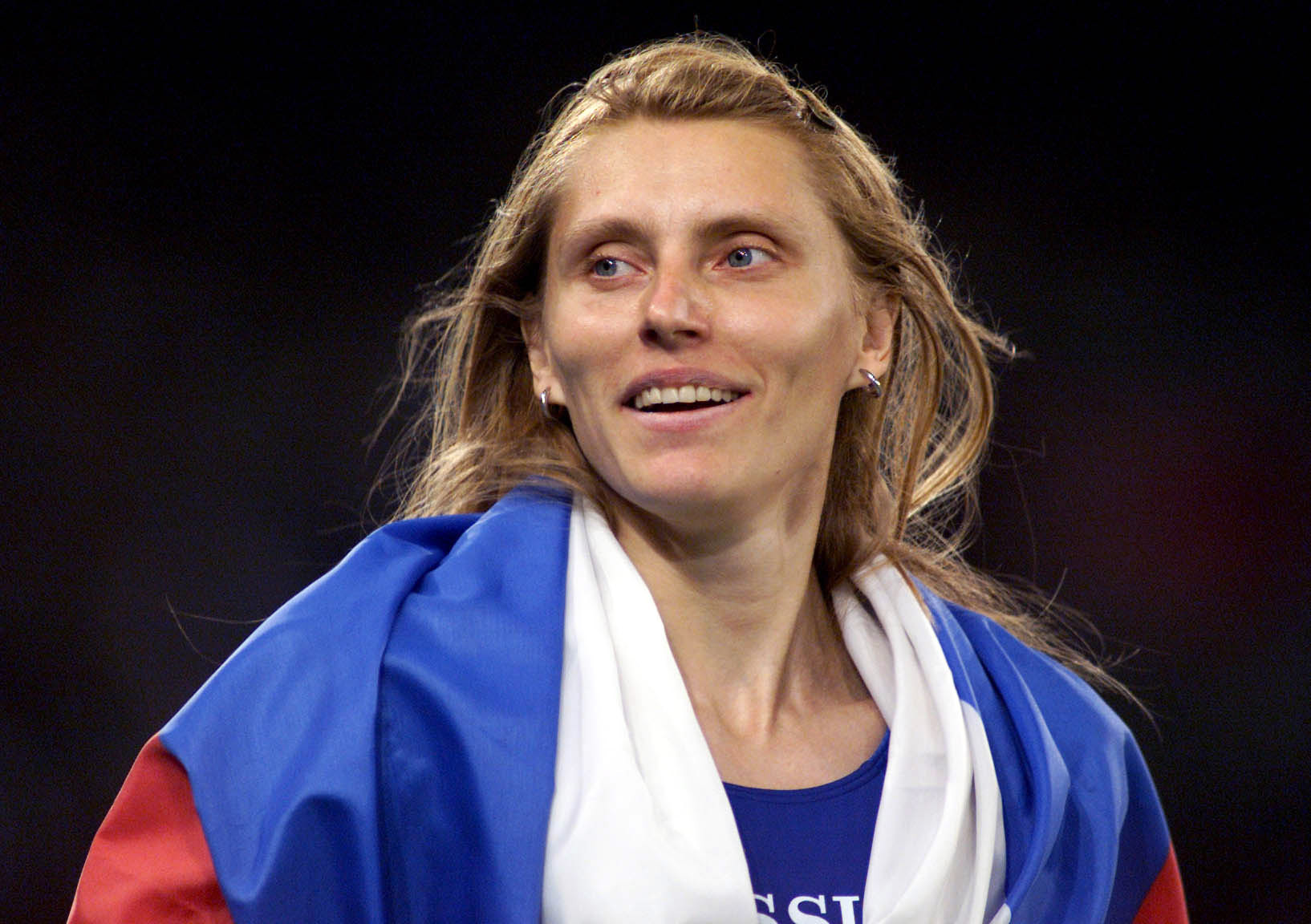 Irina Privalova is Acting President of the Russian Athletics Federation ©Getty Images